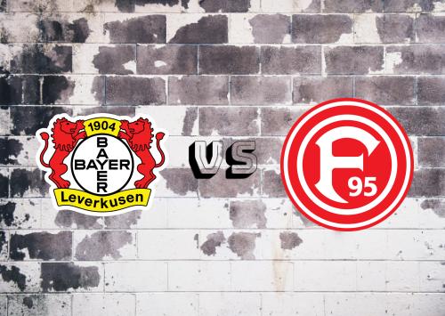 Bayer Leverkusen vs Fortuna Düsseldorf  Resumen