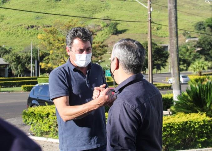Nova Laranjeiras: Deputado Sérgio Souza visita município e anuncia liberação de R$ 464 mil em recursos
