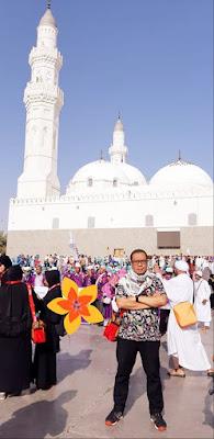 pengalaman saya dan suami keistimewaan sholat di masjid quba nurul sufitri mom lifestyle blogger umroh plus istanbul turki alhijaz indowisata travel tour traveling culinary