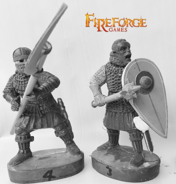 Fireforge Games: New Plastic Medieval Scandinavian Infantry