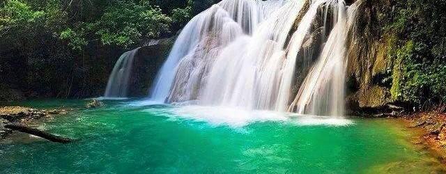 Resultado de imagen para cascada de los bueyes villa trina