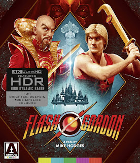 Vault Master's Pick of the Week for 08/18/2020 is Arrow Video's 4K Limited Edition of FLASH GORDON!