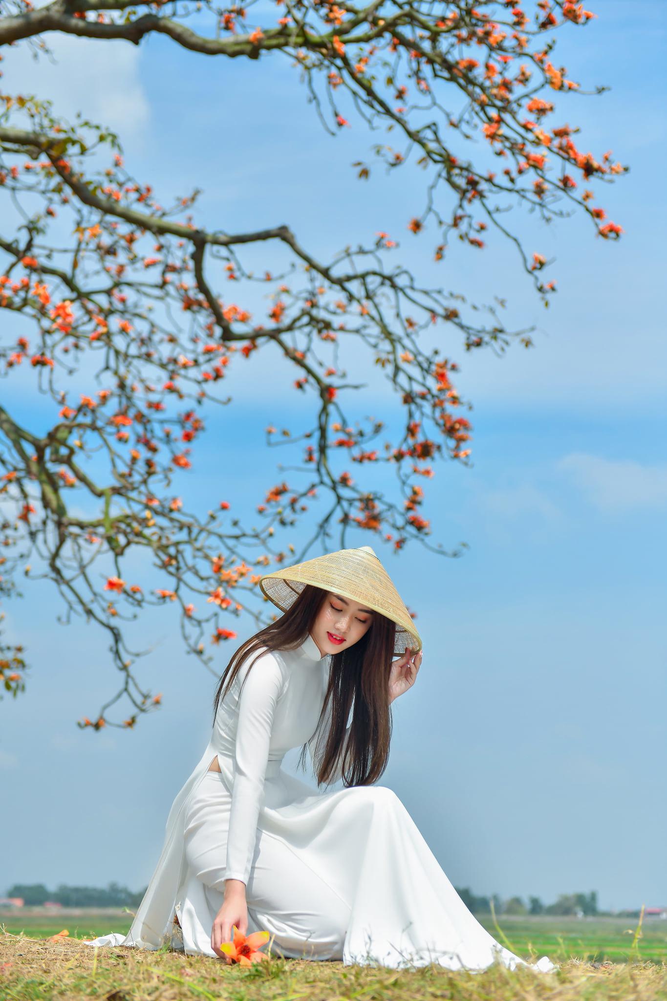 Tuyển tập girl xinh gái đẹp Việt Nam mặc áo dài đẹp mê hồn #57 - 25