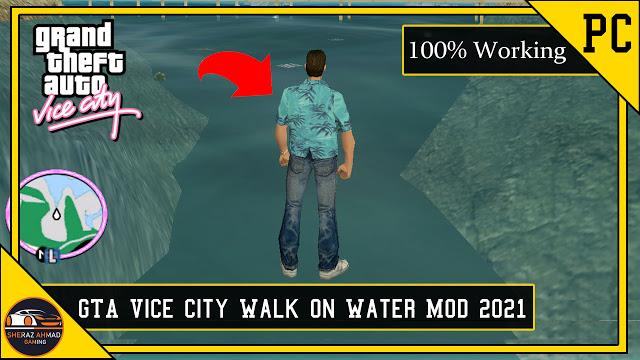 GTA Vice City Walk On Water Mod | GTA Vice City Mods