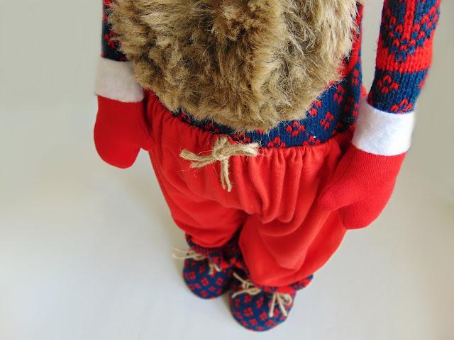 how to make a decorative skandinavian gnome