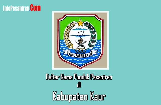 Pondok Pesantren di Kabupaten Kaur