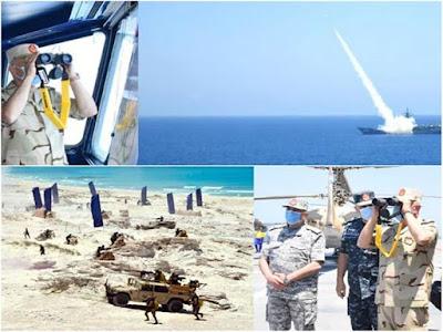 الجيش المصري يقوم بأكبر مناورات عسكرية بالبحر المتوسط ويوجه رسائل شديدة اللهجة الأتراك