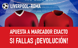 sportium Promo Champions Liverpool vs Roma 24 abril