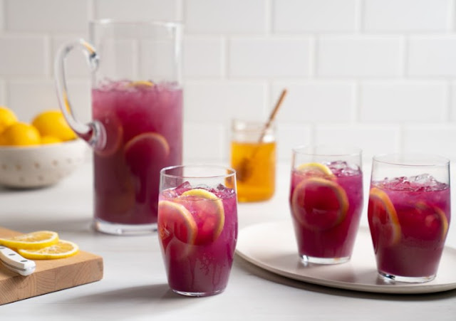 Pineapple Hibiscus Tea #drinks #easy