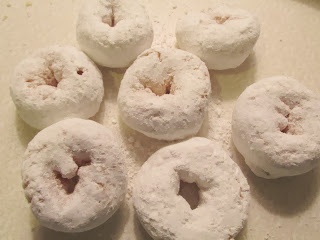sugared doughnuts