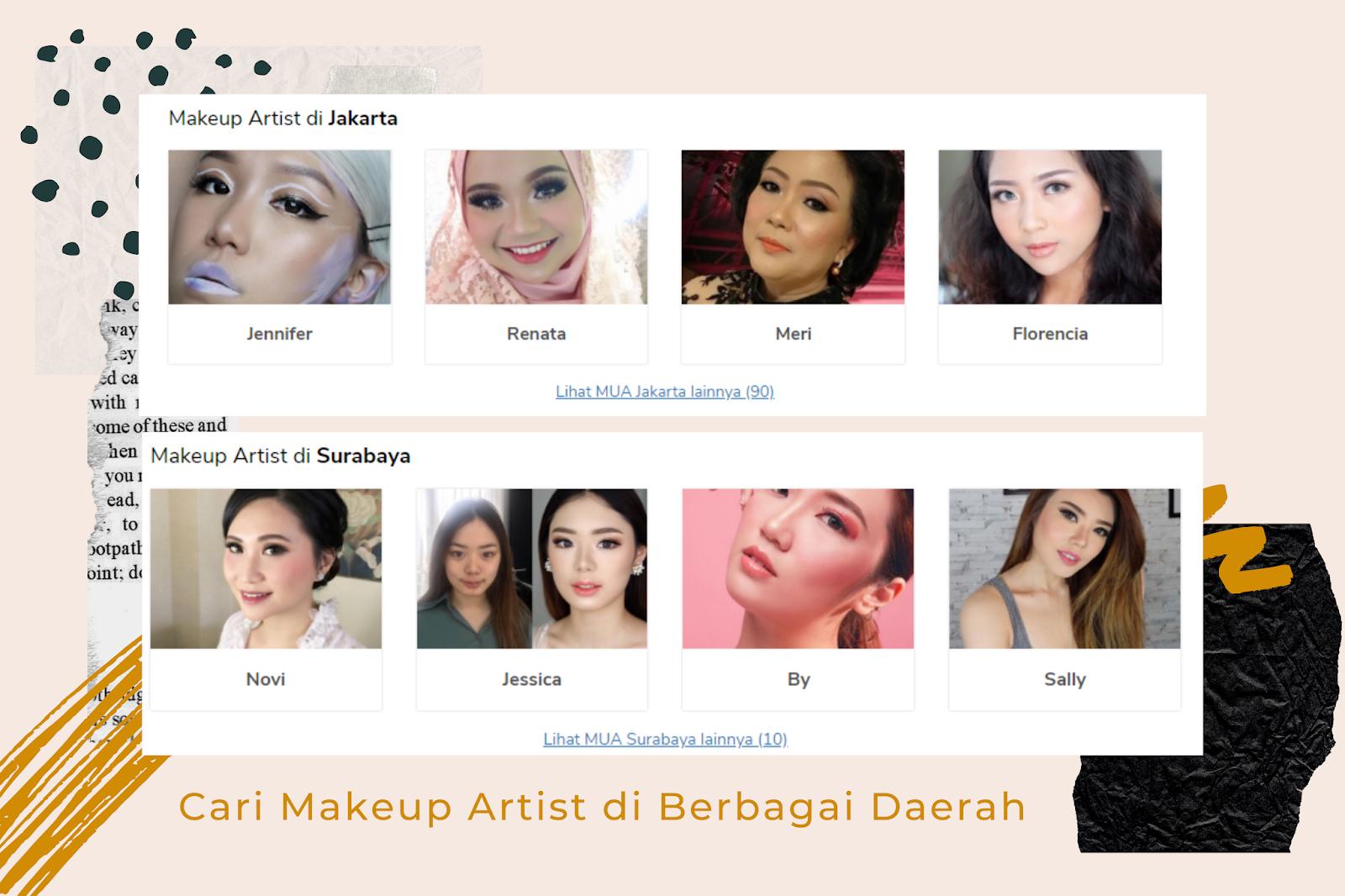 Layanan Makeup Artist