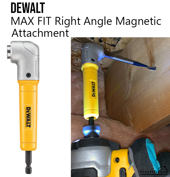 dewalt max fit right angle magnetic attachment