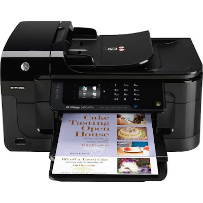 Print borderless documents amongst bright colouring graphics as well as abrupt text HP Officejet 6500A Driver Downloads
