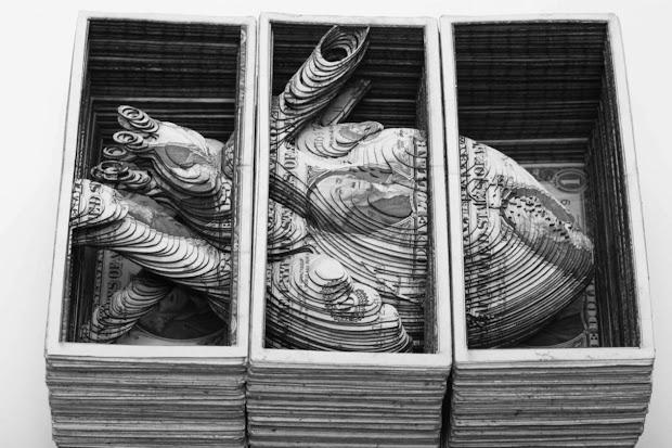 Money Skull Scott Campbell Art
