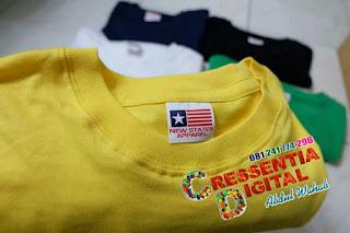 Baju Polos NEW STATES APPAPREL ORIGINAL Warna Kuning