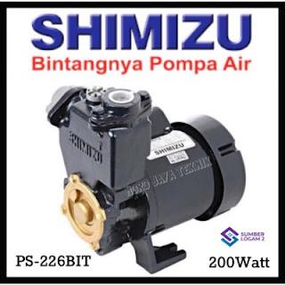 Shimizu PS-226 bit Pompa Air Sumur Dangkal
