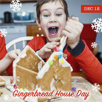 Gingerbread House Day Wishes Sweet Images