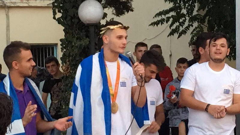 Αλεξανδρούπολη και Φέρες υποδέχτηκαν τον χρυσό Παραολυμπιονίκη Δημοσθένη Μιχαλεντζάκη