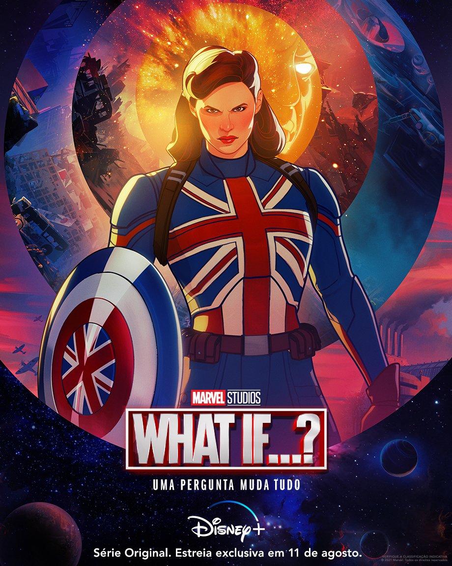 Confira os novos pôsteres e trailer apresentando o primeiro episódio de What if...? ~ Universo Marvel 616