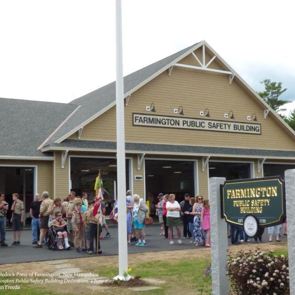 Dedication of the new Farmington Public Safety Building Sunday, June 4