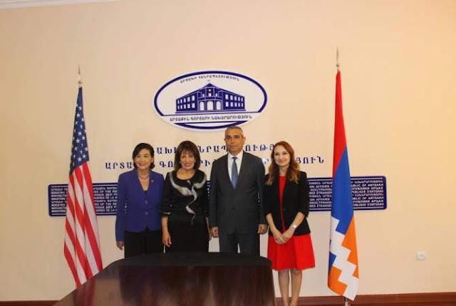 Artsaj recibe a congresistas estadounidenses