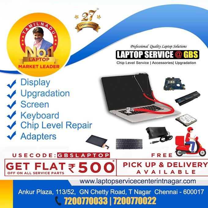 T Nagar Laptop Service