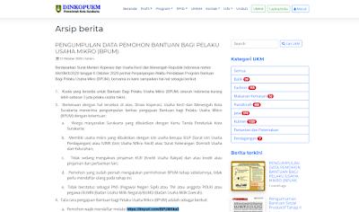 Cara Daftar Bantuan UMKM di https //tinyurl.com/bpumska32 Kota Surakarta