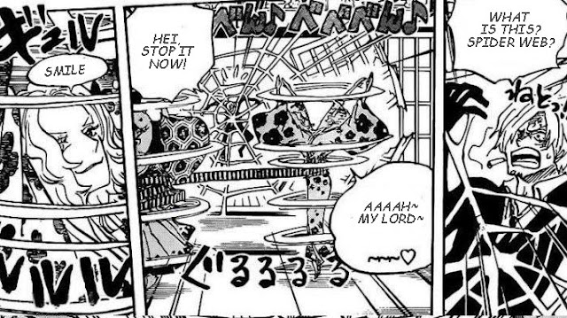 Read One Piece Chapter 998: Sanji Trapped by a Cobweb