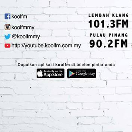 Frekuensi radio KoolFM Media Prima