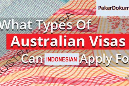 Inilah Tipe-Tipe Visa Australia (Yang Populer di Indonesia)