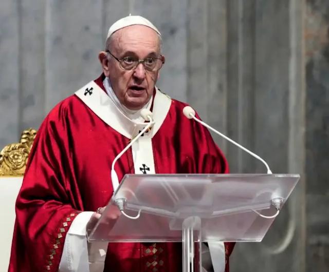 Pope considers Maradona a frail poet; he decries doping corruption.