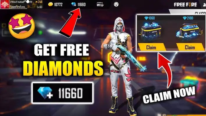 كيف تربح جواهرفري فاير مجانا - free fire diamond