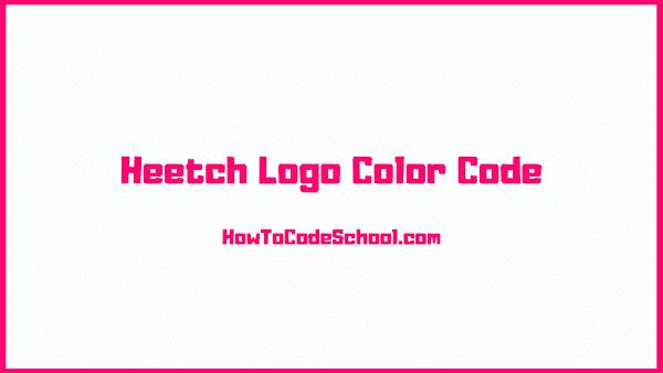 Heetch Logo Color Code
