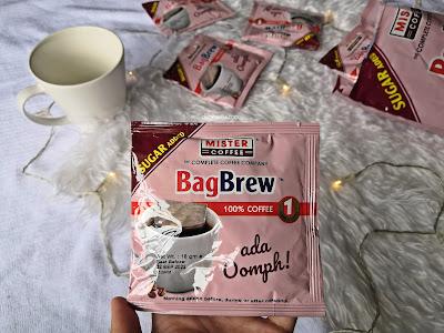bag brew sugar added mister coffee