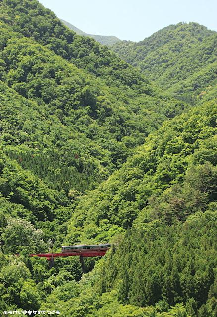 Tren de la línea Senzan