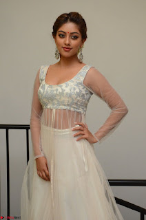 Anu Emmanuel in a Transparent White Choli Cream Ghagra Stunning Pics 028.JPG