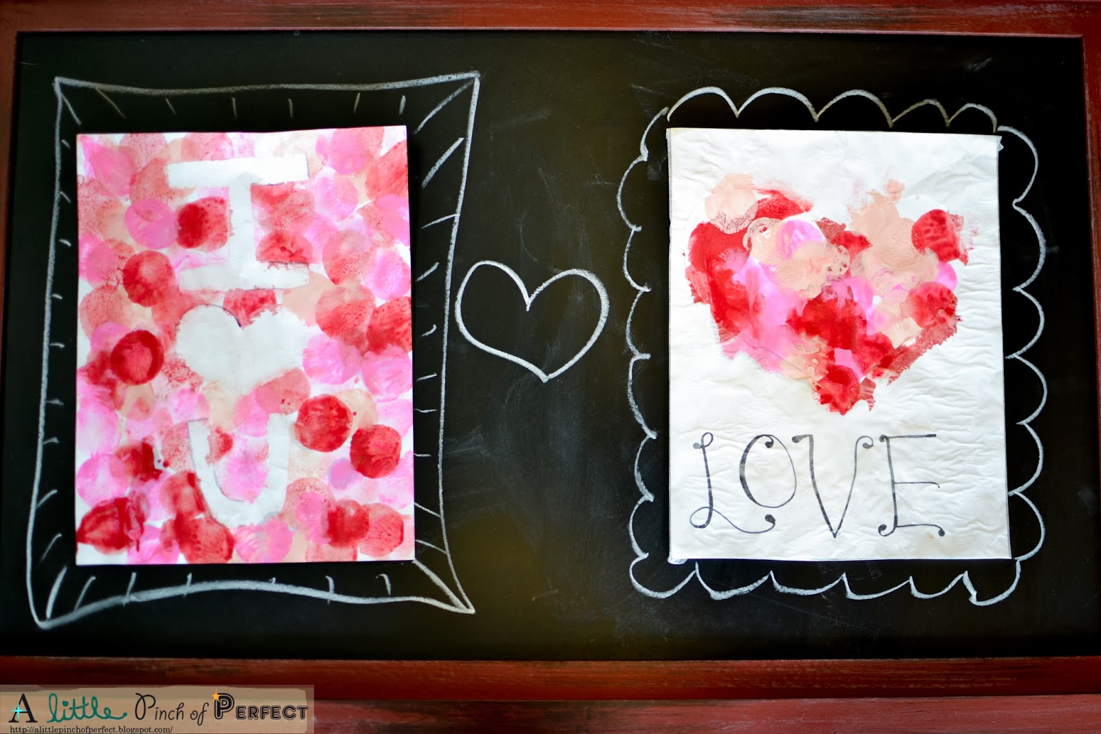 Valentines Painting With Marshmallows A Sweet Craft For Kids