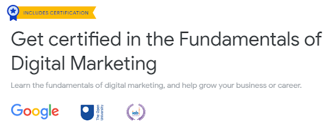 Free Digital Marketing Course With Google