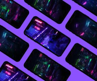 Cyberpunk wallpaper phone