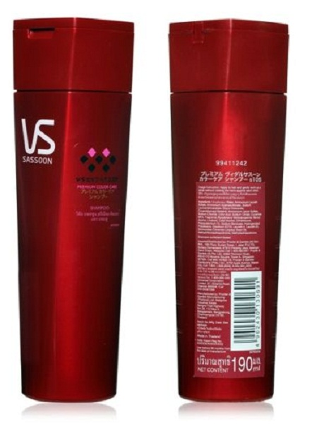 Vidaal Sasoon Premium Color Care Shampoo 190ml