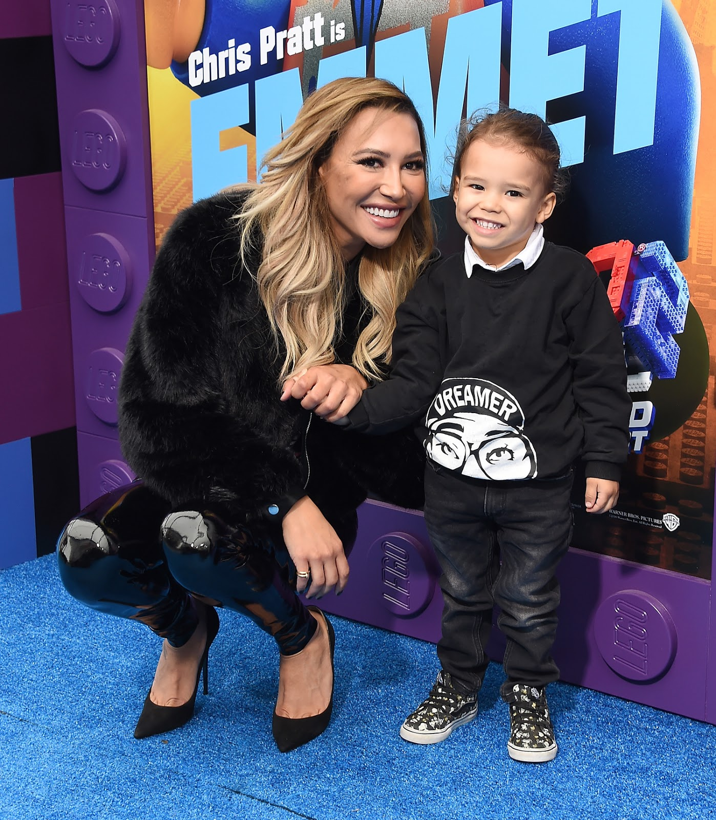 Naya Rivera And her 4 year old son