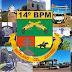 Nesta quarta-feira (23/12), o 14°BPM completa 44 anos de sua instalação