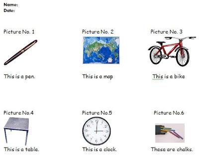 Materi Bahasa Inggris untuk SD Kelas 1 Things in my Classroom (Benda-benda di Sekolahku)