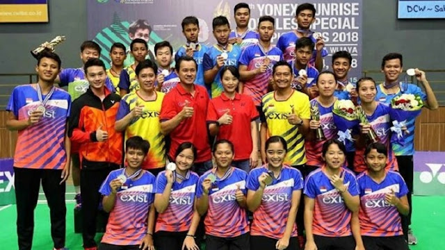 Digelar 5-11 Agustus di Jakarta, 11 Negara Asia Ikut Kejuaraan Bulutangkis VEJO 2019