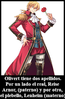 Olivert Reise Arnor Lenheim Trails of Cold Steel