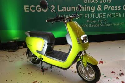 Harga Motor EC GO2 keluaran Terbaru