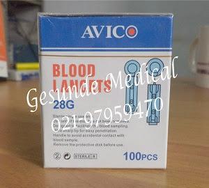 BLOOD LANCETS AVICO dua
