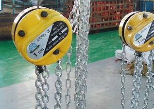 Darmatek Jual Chain Block -- Shuang GE 1 Ton