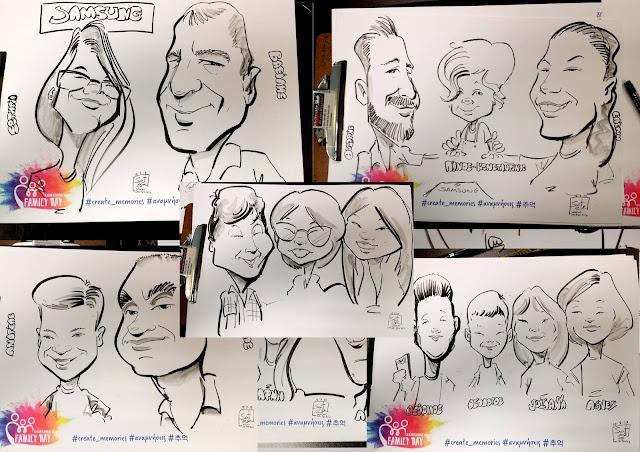 """Εταιρικό πάρτυ, με καρικατούρες, μικρών και μεγάλων μια ευκαιρία για σύσφιξη των οικογενειακών και συναδελφικών σχέσεων - δυνατές """"γέφυρες"""" με χαμόγελα! Η ομάδα έγινε δυνατότερη!!! Caricatures event, Εταιρική εκδήλωση για το προσωπικο με καρικατούρες Εκδηλώσεις καρικατούρας, samsung , live caricatures soter skitso"""