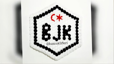 Kasnakta BJK Besiktas Taraftar Lif Modeli | Tasarım; @KasnakLifleri
